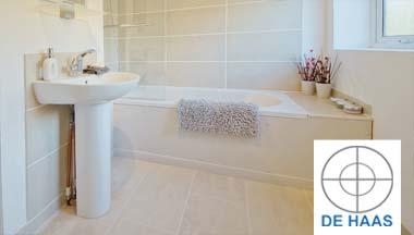 De Haas badkamer renovatie