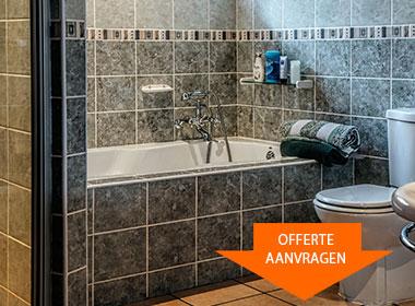Badkamer Raalte - renovatie, ontwerp en reparatie